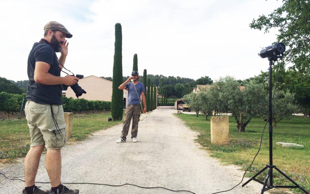 Making-of: Shooting Pey Blanc