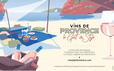 Communication: la nouvelle campagne Vins de Provence