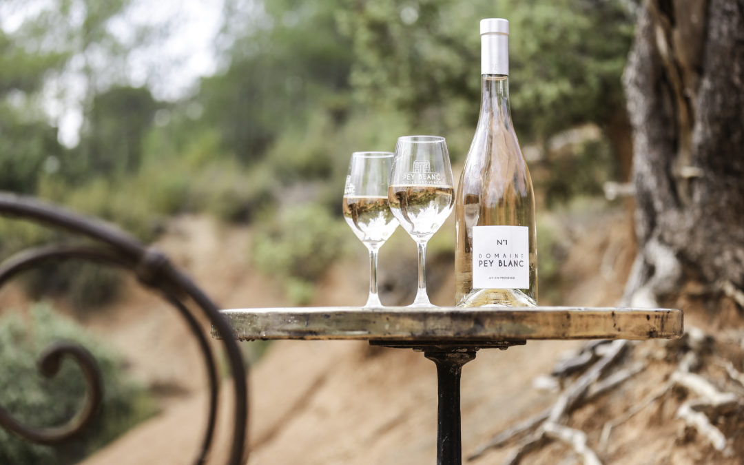 Pey Blanc, the favorite rosé of Aix!